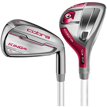 Cobra King F6 Combo Raspberry Iron Set Golf Club