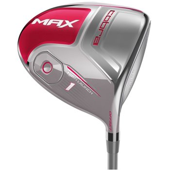 Cobra Max Raspberry Driver Preowned Golf Club