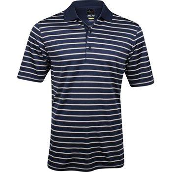 Greg Norman ML75 Micro Lux Stripe Shirt Polo Short Sleeve Apparel