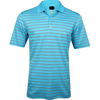 Greg Norman ML75 Micro Lux Stripe Shirt Polo Short Sleeve Apparel