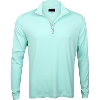 Greg Norman Heathered 1/4 Zip Mock Outerwear Pullover Apparel