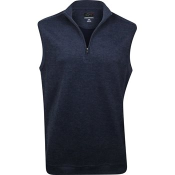 Greg Norman Contemporary 1/4 Zip Outerwear Vest Apparel