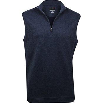 Greg Norman Contemporary 1/4 Zip Outerwear Vest Apparel