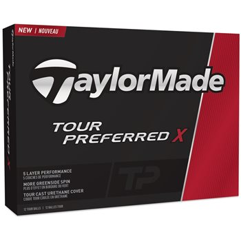 TaylorMade Tour Preferred X Golf Ball Balls