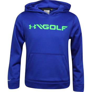 Under Armour UA Youth Fleece Hood Outerwear Pullover Apparel