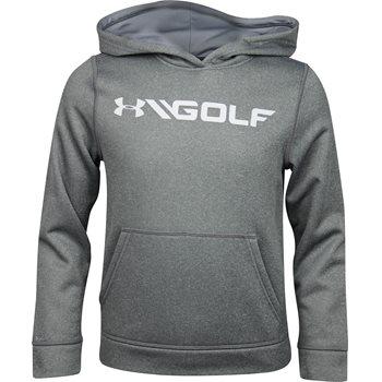 Under Armour UA Youth Fleece Hood Outerwear Pullover Apparel