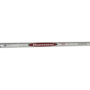 Mitsubishi Rayon Diamana M+ Red 60 Shafts Preowned Club Components