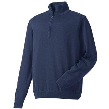 FootJoy Merino Half Zip Sweater Outerwear Pullover Apparel