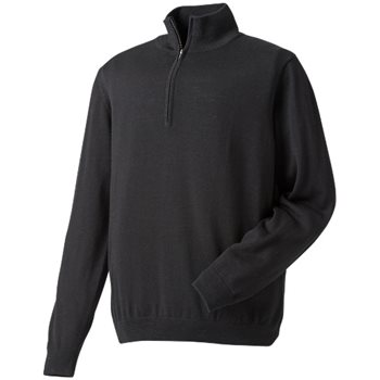 FootJoy Merino Half Zip Sweater Outerwear Pullover Apparel