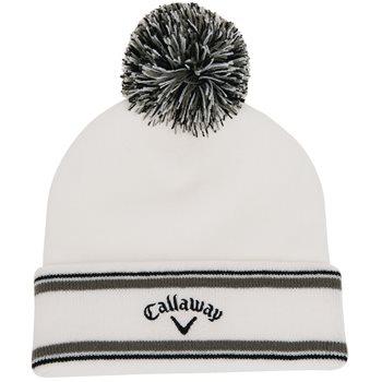 Callaway Pom Pom Beanie Headwear Knit Hat Apparel