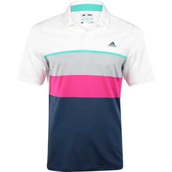 Adidas ClimaCool Engineered Stripe Shirt Polo Short Sleeve Apparel