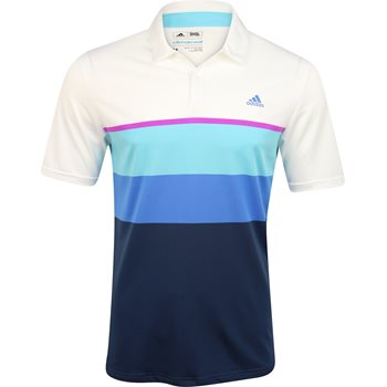 Adidas ClimaCool Engineered Stripe Shirt Polo Short Sleeve Apparel