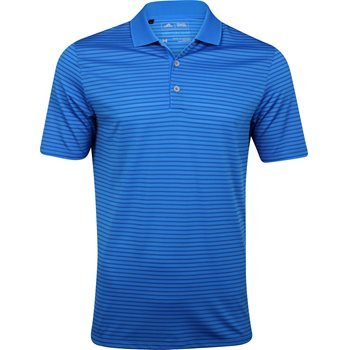 Adidas ClimaCool 2-Color Pencil Stripe Shirt Polo Short Sleeve Apparel