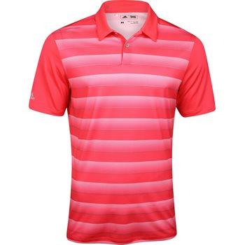 Adidas Block Stripe Shirt Polo Short Sleeve Apparel