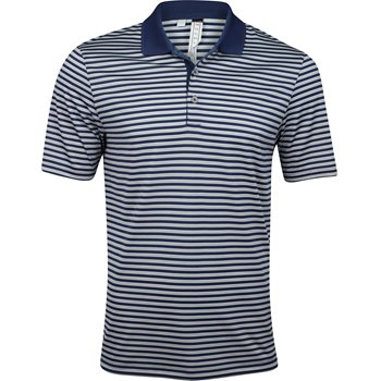 Adidas Performance 3-Color Stripe Shirt Polo Short Sleeve Apparel