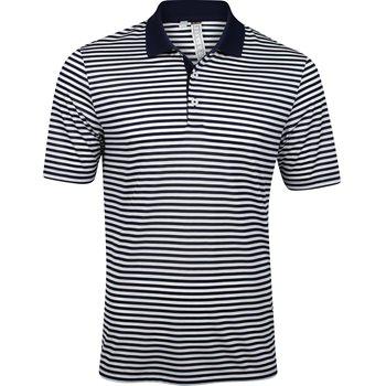 Adidas Performance 3-Color Stripe Shirt Polo Short Sleeve Apparel