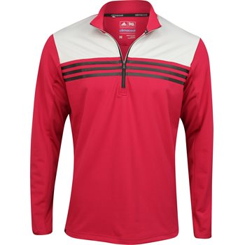 Adidas ClimaCool Colorblock 1/4 Zip Layering Top Outerwear Pullover Apparel