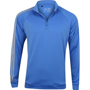 Adidas Adidas 3-Stripes 1/4 Zip Layering Top Outerwear Pullover Apparel