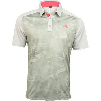 Adidas ClimaCool Geo Print Shirt Polo Short Sleeve Apparel