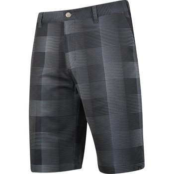 Adidas Adidas Ultimate Competition Plaid Shorts Flat Front Apparel