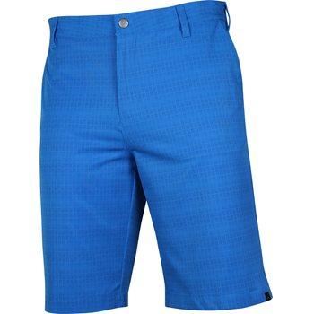 Adidas Ultimate Dot Plaid Shorts Flat Front Apparel