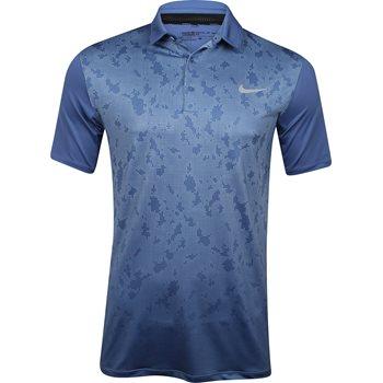 Nike Mobility Camo Shirt Polo Short Sleeve Apparel