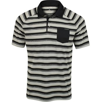 Oakley Ace Stripe Shirt Polo Short Sleeve Apparel