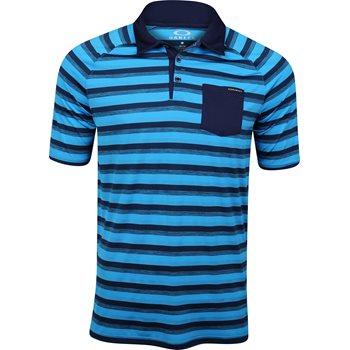 Oakley Ace Stripe Shirt Polo Short Sleeve Apparel