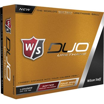Wilson Staff Duo Urethane Golf Ball Balls