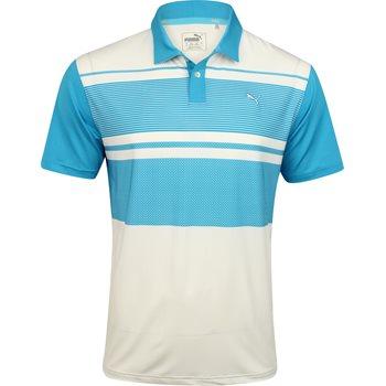 Puma Pattern Block Shirt Polo Short Sleeve Apparel