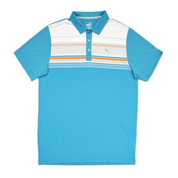 Puma Key Stripe Shirt Polo Short Sleeve Apparel