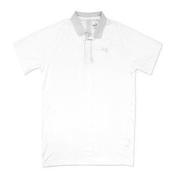 Puma Solid Vent Shirt Polo Short Sleeve Apparel