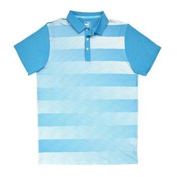 Puma Golf Tech Crossfade Shirt Polo Short Sleeve Apparel