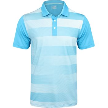 Puma Golf Tech Crossfade Shirt Polo Short Sleeve Apparel