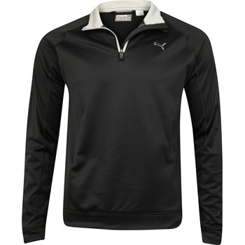 Puma Fleece 1/4 Zip Outerwear Pullover Apparel