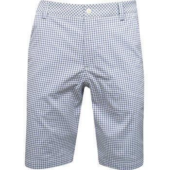 Puma Plaid Shorts Flat Front Apparel