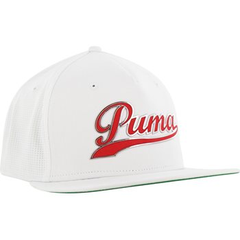Puma Script Snapback Headwear Cap Apparel