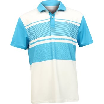 Puma Youth Pattern Block Shirt Polo Short Sleeve Apparel