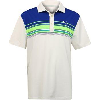 Puma Youth Key Stripe Shirt Polo Short Sleeve Apparel