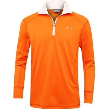 Puma Youth Long Sleeve 1/4 Zip Outerwear Pullover Apparel