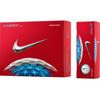 Nike RZN Speed Red Golf Ball Balls