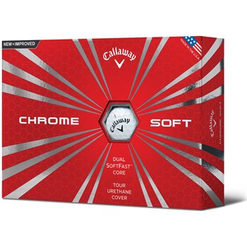 Callaway Chrome Soft 16 Golf Ball Balls