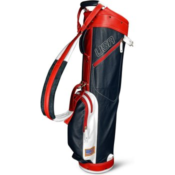 Sun Mountain Leather Sunday Carry Golf Bag