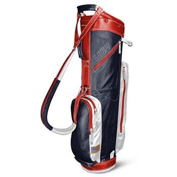 Sun Mountain Leather Cart Golf Bag
