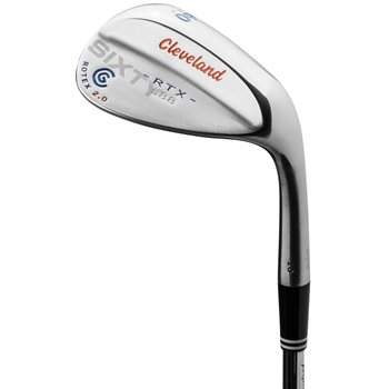 Cleveland 588 RTX 2.0 Blade Satin Cropped Loft Blue/Orange Wedge Preowned Golf Club