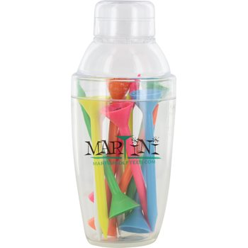 Martini Tee Mini Shaker Golf Tees Accessories