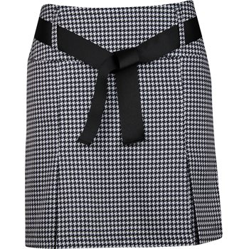 Golftini Mini Check Performance Pleat Skort Regular Apparel
