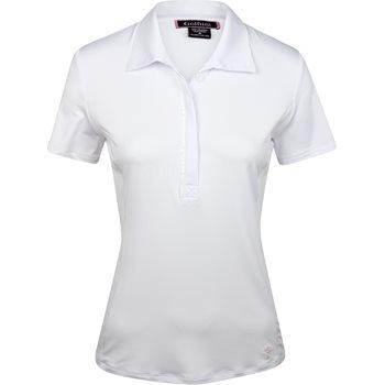 Golftini Ruffle Tech Shirt Polo Short Sleeve Apparel