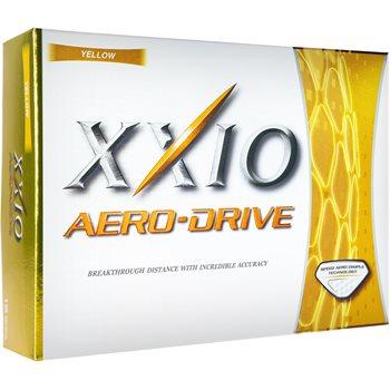 XXIO Aero Drive Yellow Golf Ball Balls