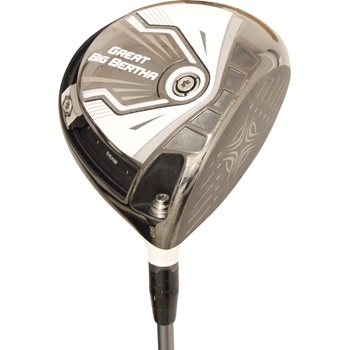 Callaway Great Big Bertha uDesign White Driver Preowned Golf Club